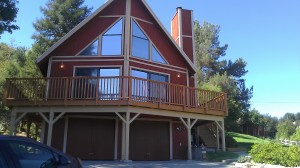 Topanga Canyon Chalet Stle House at DeerHill trail